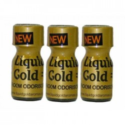 Poppers Liquid Gold 10ml 3 Flesjes
