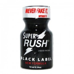 Super Rush Black Label Poppers 10ml 10 Flesjes