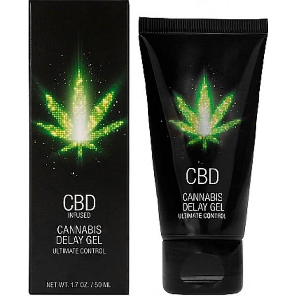 CBD Cannabis Delay Gel 50ml - Orgasme Uitstellen
