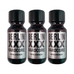 Berlin XXX Hardcore Aroma Poppers - 25ML Super Strong 3 Flesjes