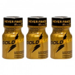 Rush Poppers Leathercleaners Gold 3 Flesjes