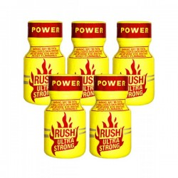 Rush Poppers Ultra Strong 5 flesjes
