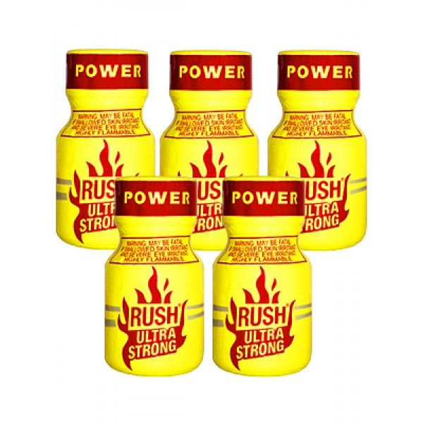 Rush Poppers Ultra Strong Leathercleaners Roomodorizers 3 flesjes